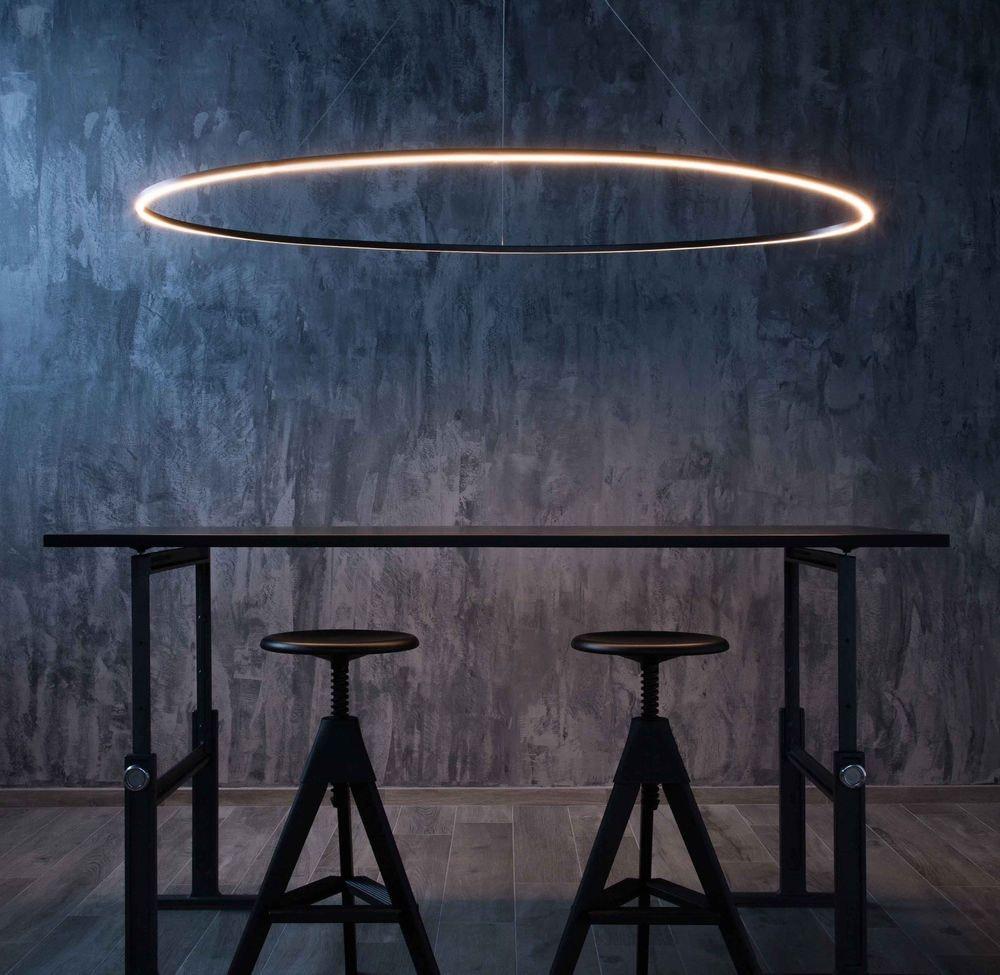 Nemo Ellisse Mega Down LED Hängelampe 186x95cm direkt thumbnail 3