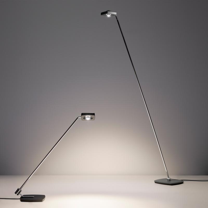 Oligo dimmbare LED Schreibtischleuchte Kelveen 90° Graphit 8