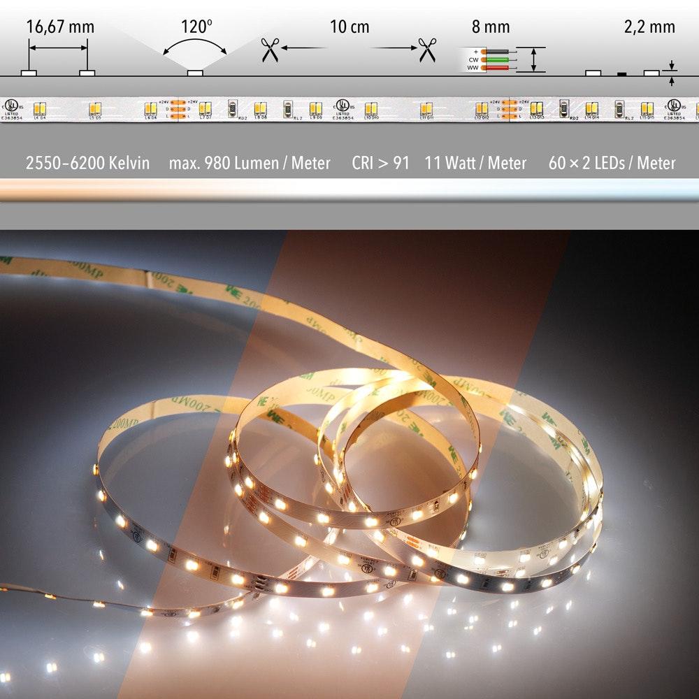 5m LED Lichtband 24V auf Wunsch  16