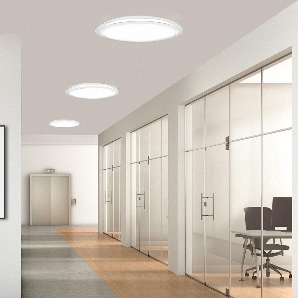 Mantra Edge Smart LED-Deckenleuchte mit Fernbedienung 1