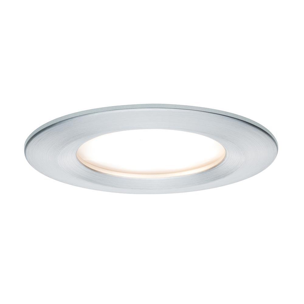 Einbauleuchte LED Coin Slim IP44 rund 6,8W Alu dimmbar 1