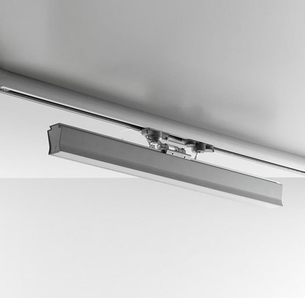 IVELA LED Leiste 3-Phasen Boma LED 4000lm Silberfarben