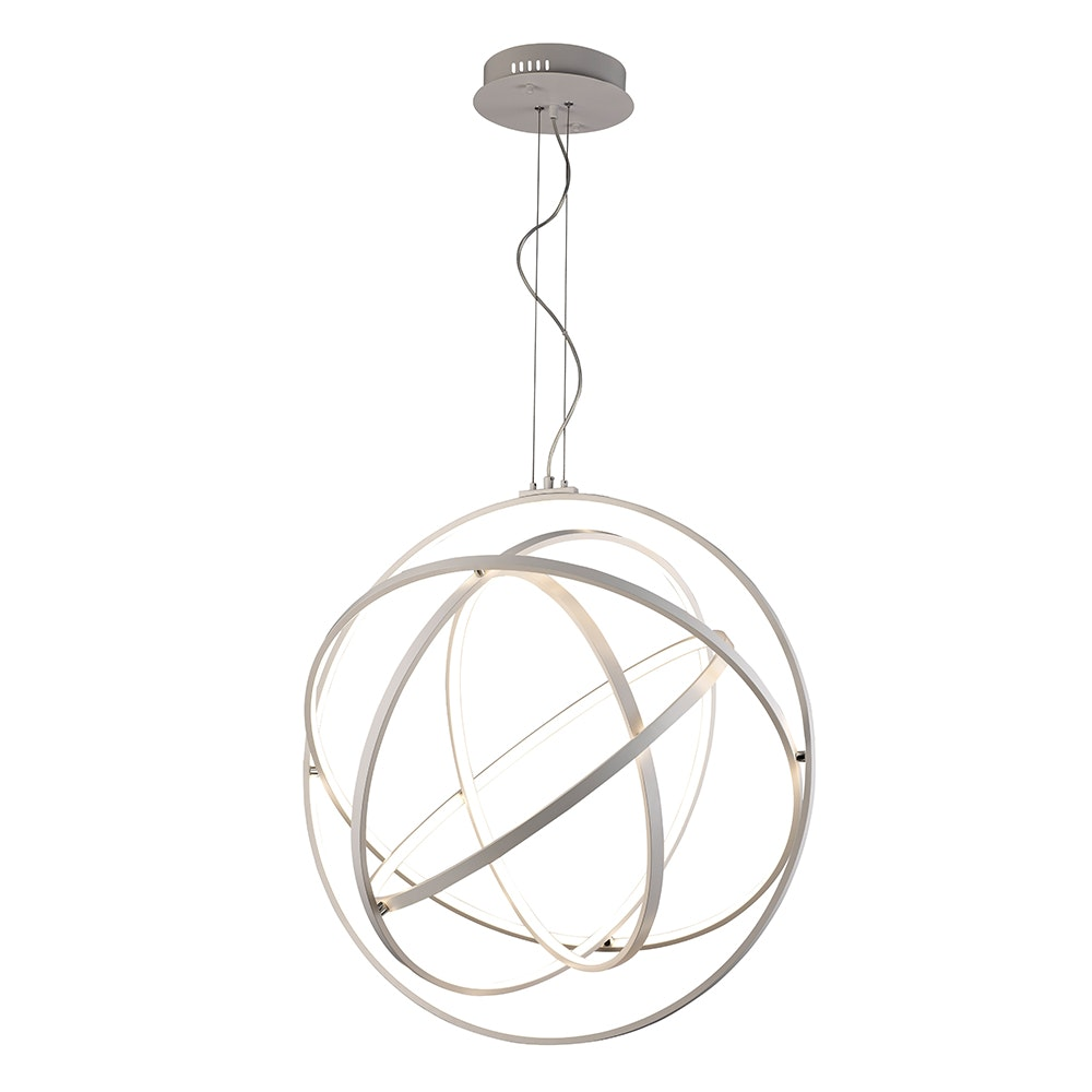 Mantra Orbital LED-Pendelleuchte Fernbedienung Weiß 4