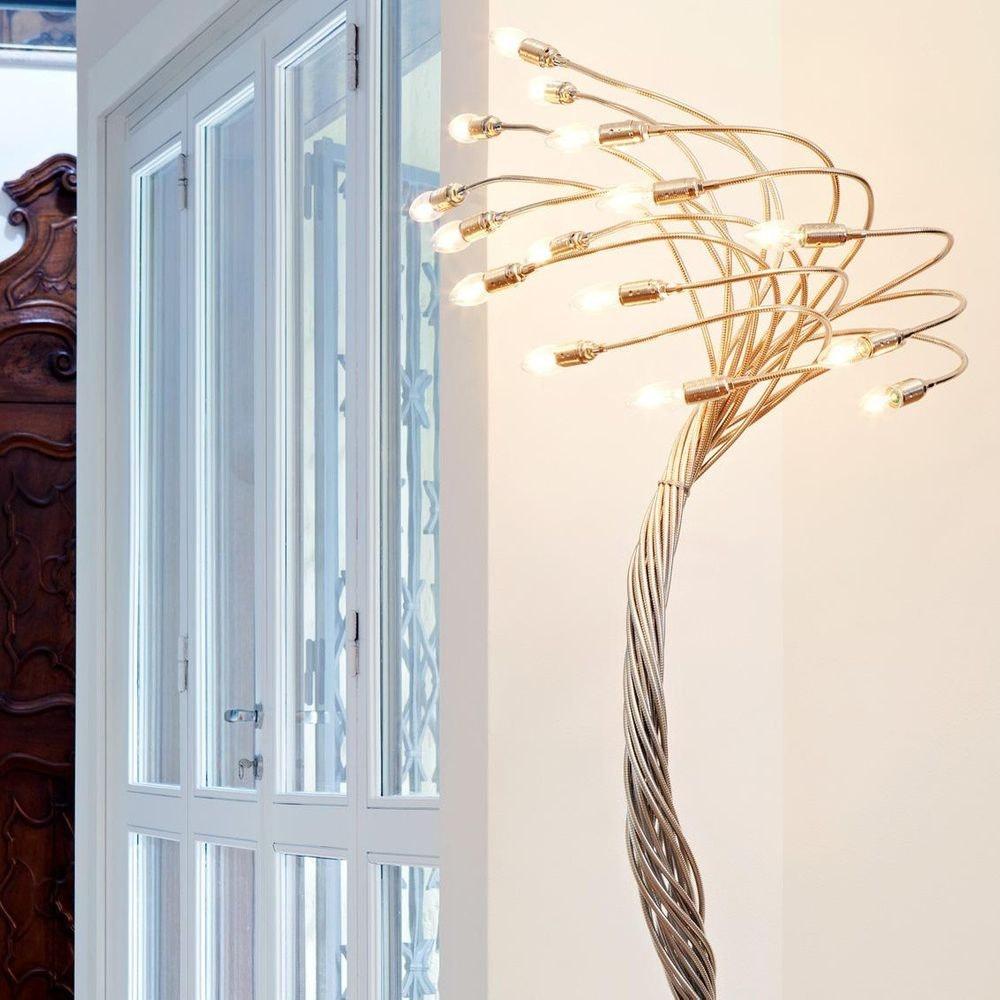 Catellani & Smith Sottovento 15 LED Stehleuchte Flex 180-200cm Dimmbar 2
