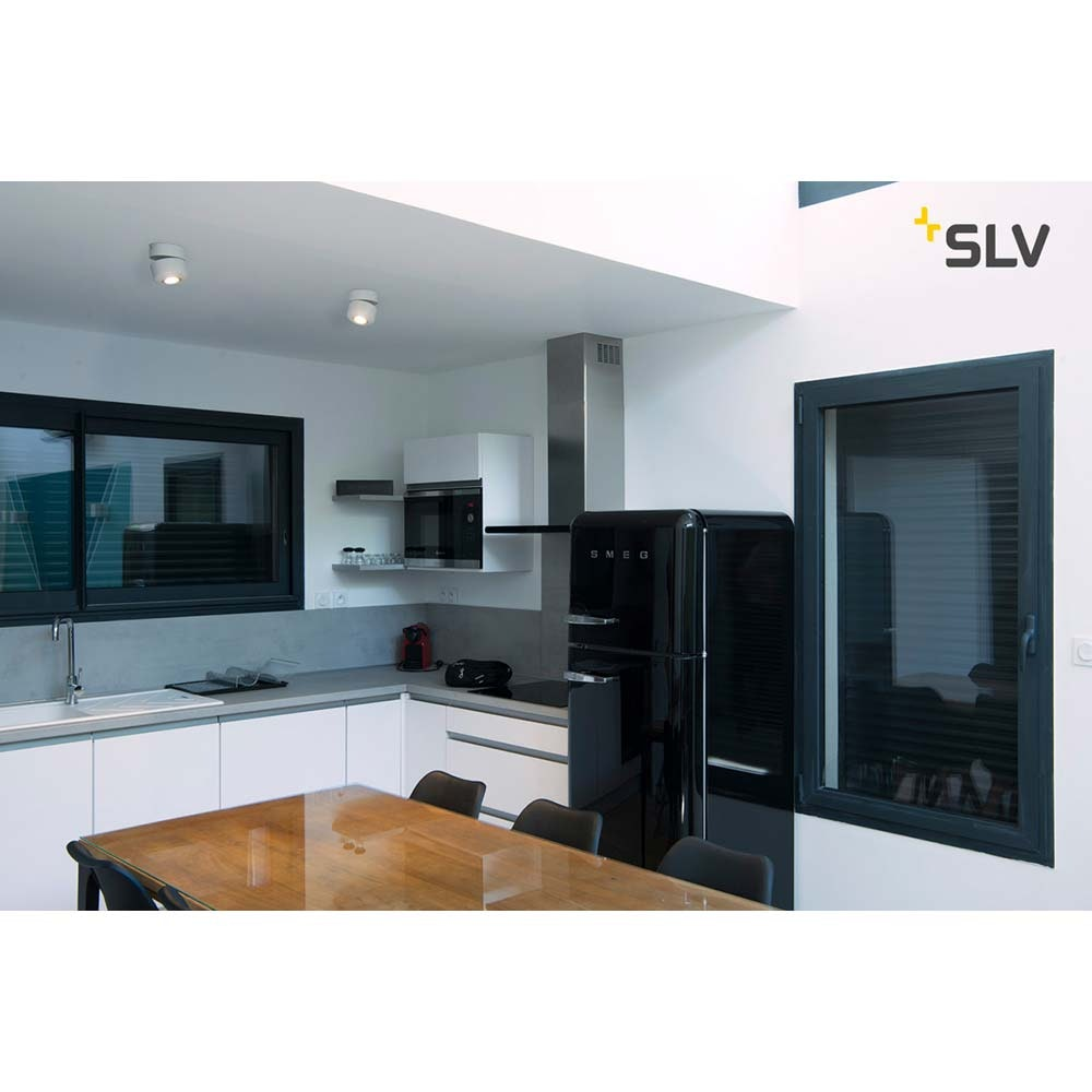SLV Tothee LED Wand- & Deckenleuchte Weiß, Schwarz 3000K 50° 2