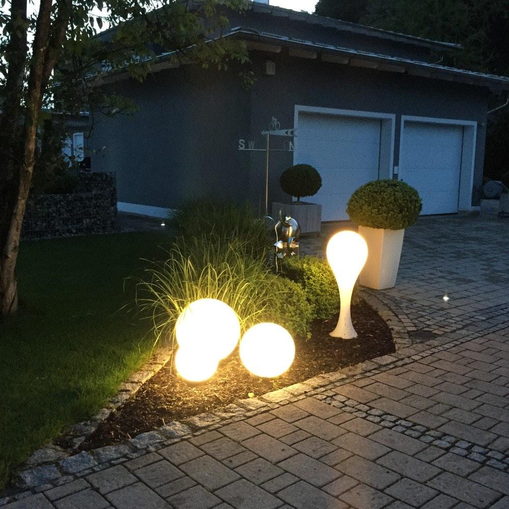 s.LUCE Globe+ Set Garten Kugelleuchten  6