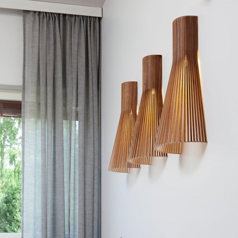 Wandleuchte Secto 4230 aus Holz 60cm 3