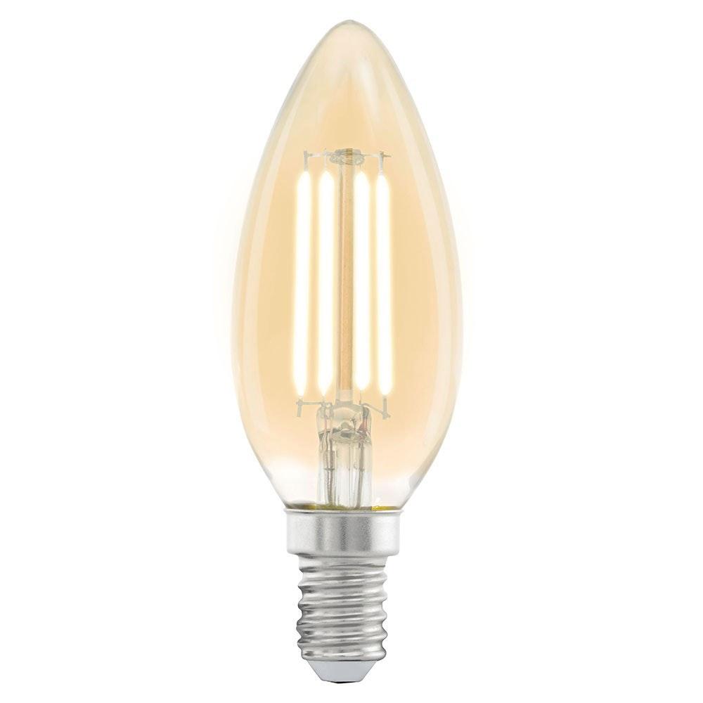 E14 LED Vintage Kerze 4W, 220lm Extra Warmweiß 1
