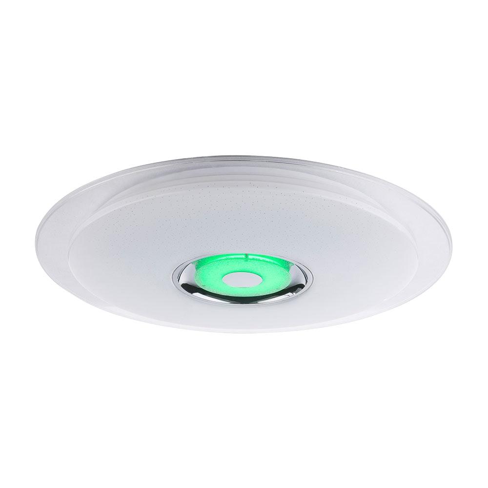 LED Deckenleuchte Tune Sparkle Decor Lautsprecher CCT APP Weiß, Opal, Klar 6