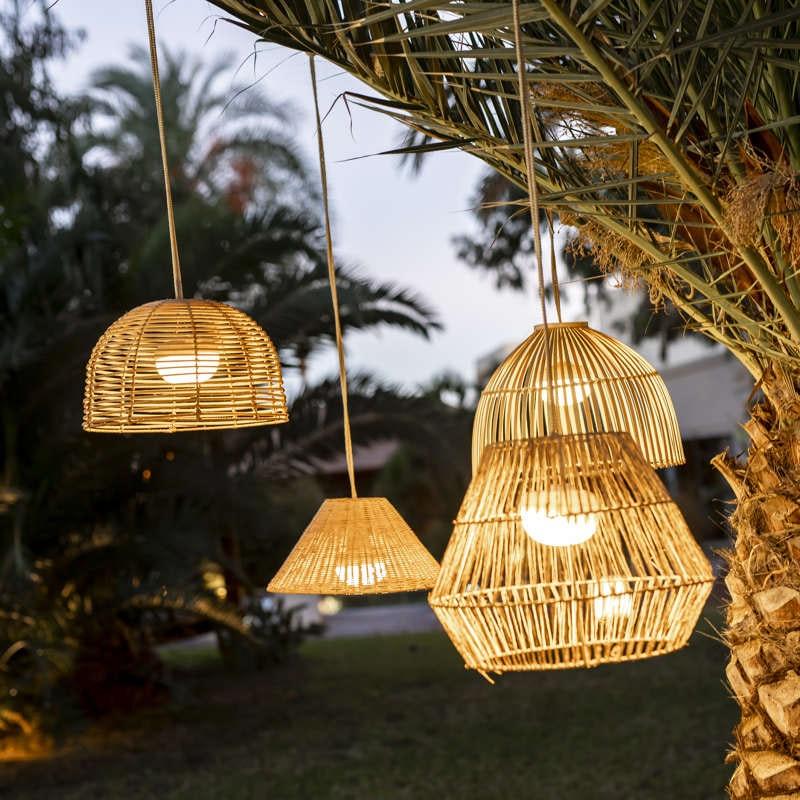 Licht-Trend natürliche LED-Hängeleuchte Bossa 3