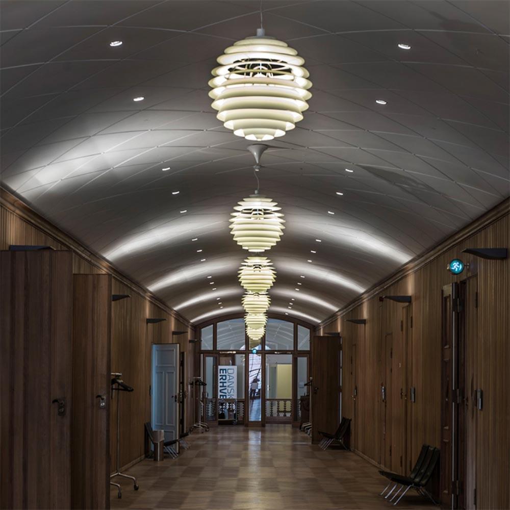 Louis Poulsen LED Pendelleuchte PH Louvre Weiß 2