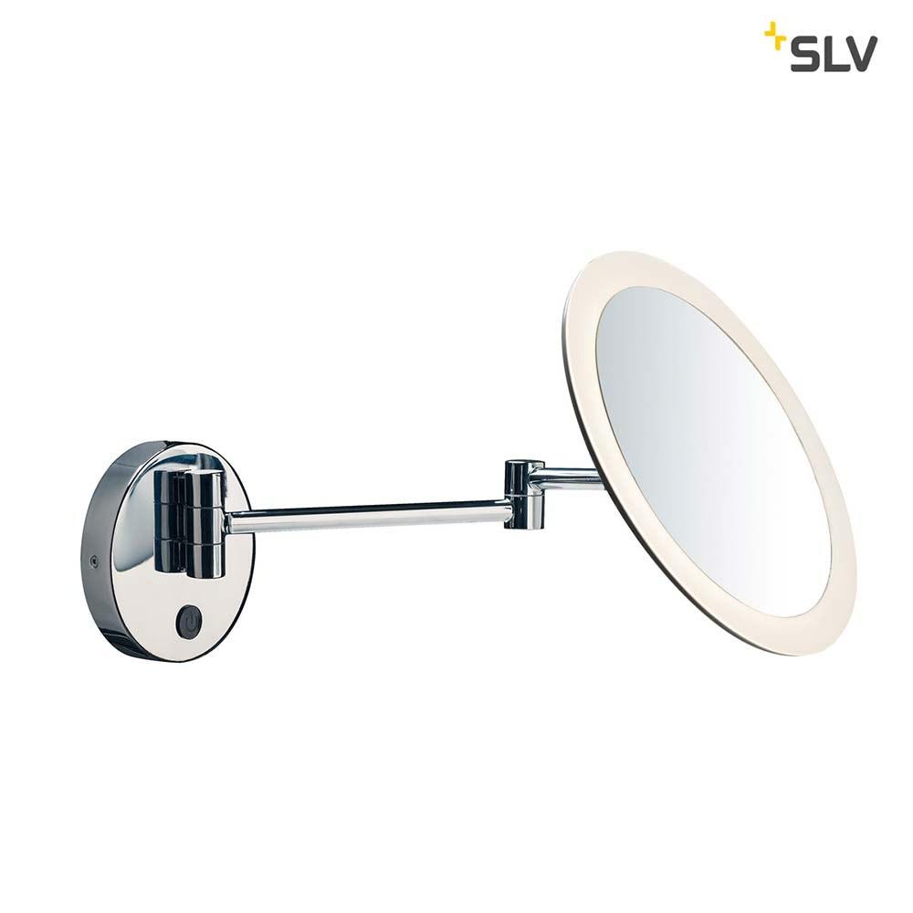 SLV Maganda LED Kosmetikspiegel Chrom IP44 3