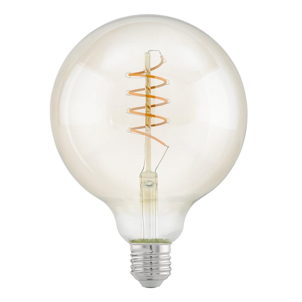 E27 LED Spirale Ø 12,5cm 4W, 400lm Warmweiß 1