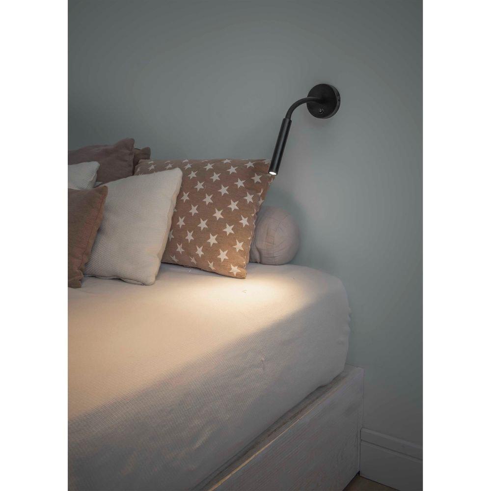 LED Wand-Leseleuchte KALE Schwarz 2