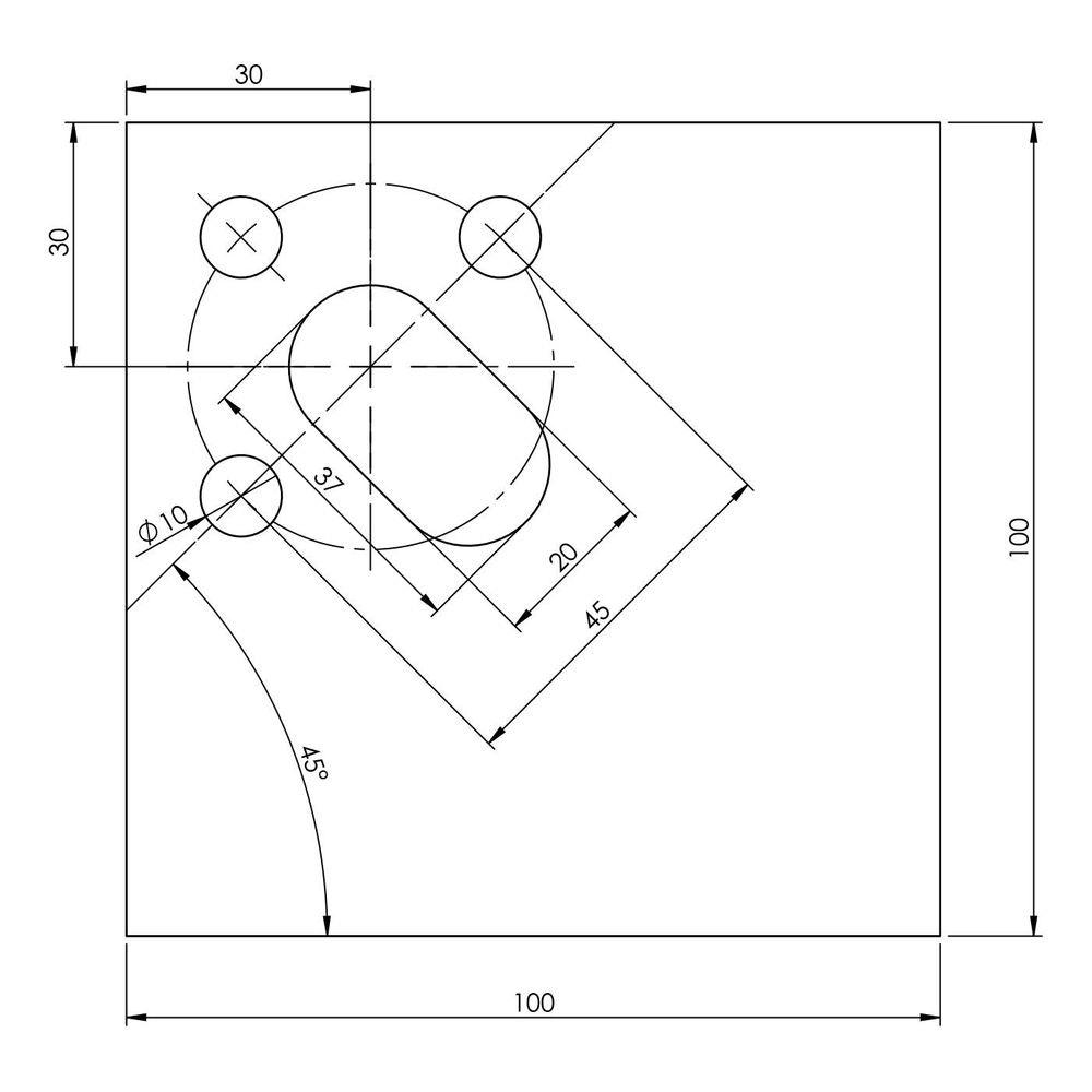 Lodes Zubehör Abdeckplatte für Puzzle 2