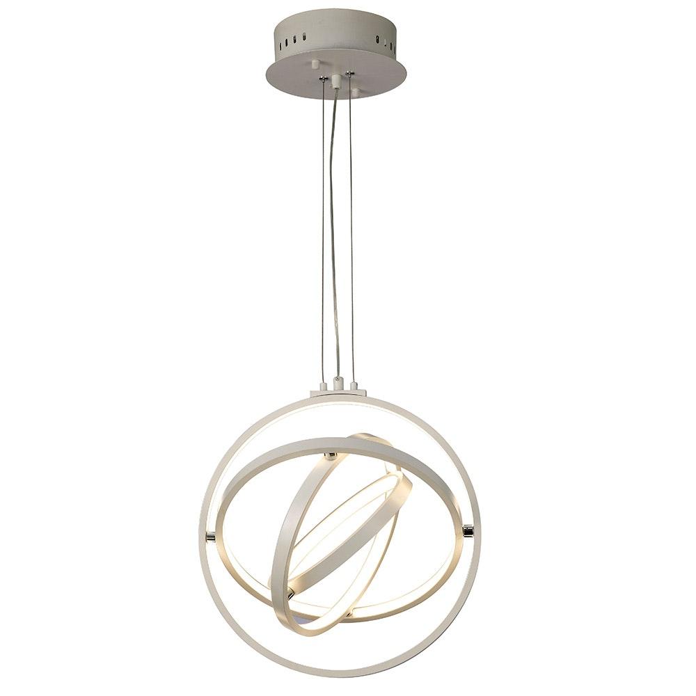 Mantra Orbital LED-Pendelleuchte Fernbedienung Weiß 1