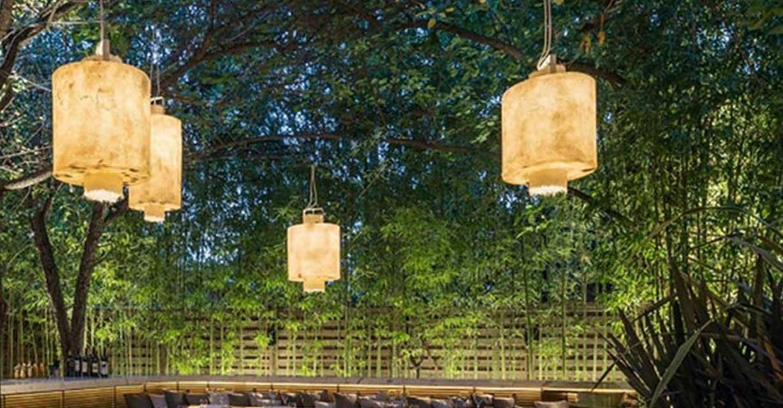 Hängeleuchten Garten Kimono Lounge