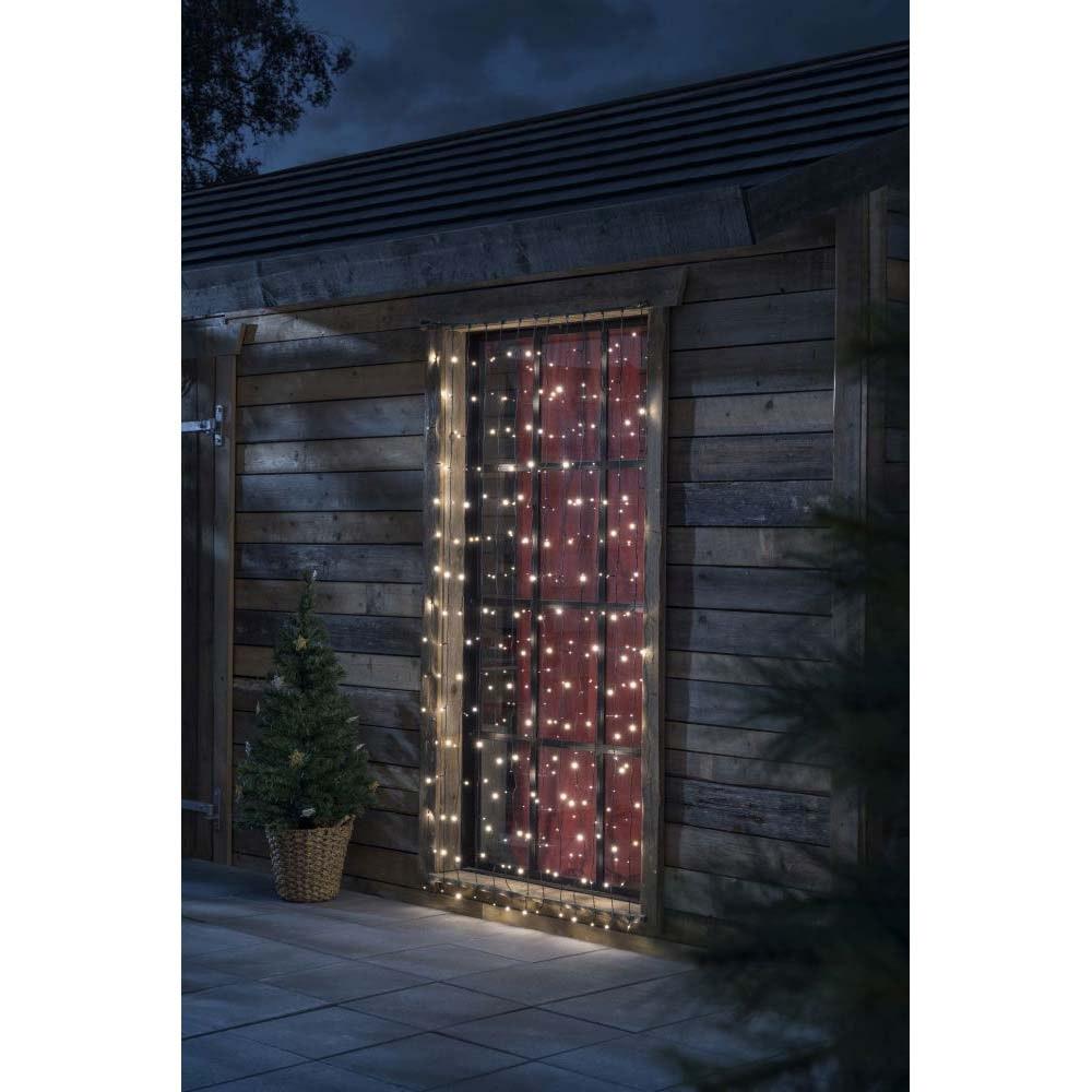 LED System Erweiterung Lichtervorhang 208 warmweiße Dioden IP44