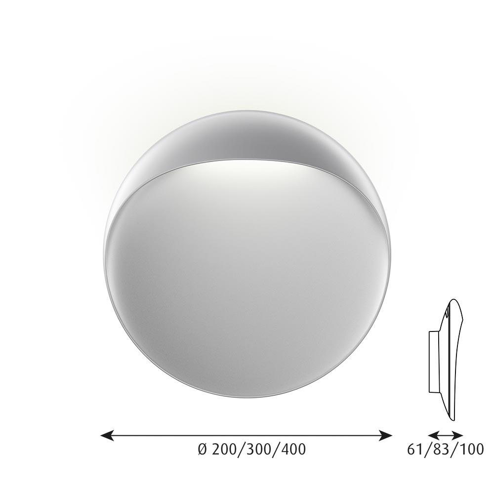 Louis Poulsen LED Wandlampe Flindt für Innen und Außen IP65 19