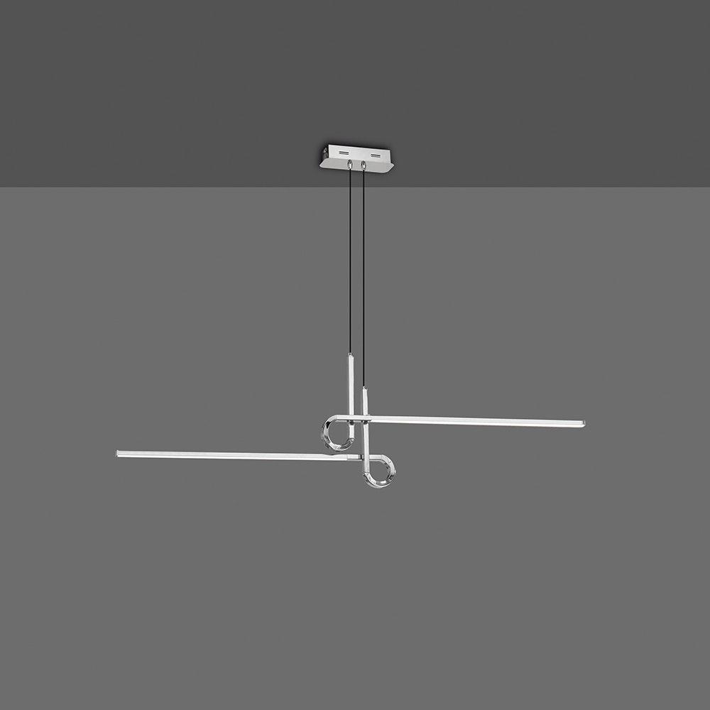 Mantra LED-Pendelleuchte Cinto geschwungen 2-flammig 2