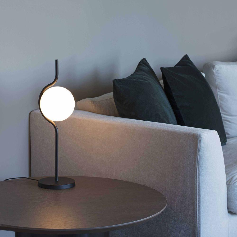 Le Vita LED Tischlampe Touch-Dimmer Schwarz 2
