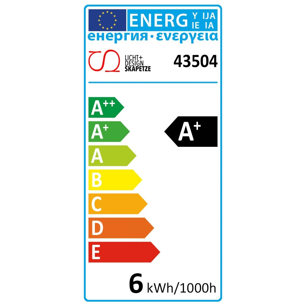 E14 LED-Leuchtmittel dimmbar per Schalter Warmweiß 6W, 470lm zoom thumbnail 6