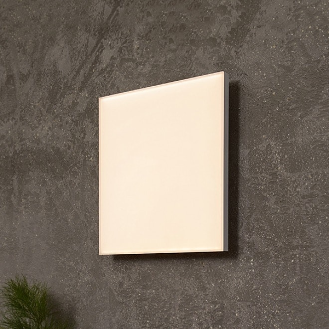 Q-Flat 2.0 rahmenlose LED Deckenpanel 30 x 30cm 3000K