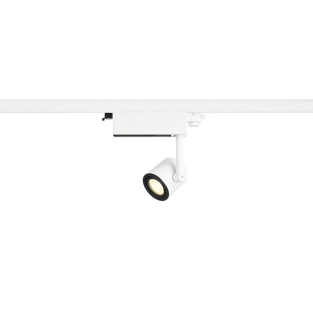 SLV Supros 78 Track LED Spot 60° inkl. 3P.-Adapter 750lm 3000K Weiß 1