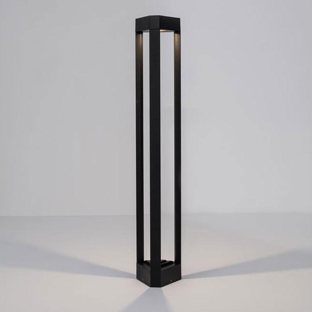 Nova Luce Pax Pollerleuchte Dreieck LED Schwarz thumbnail 3
