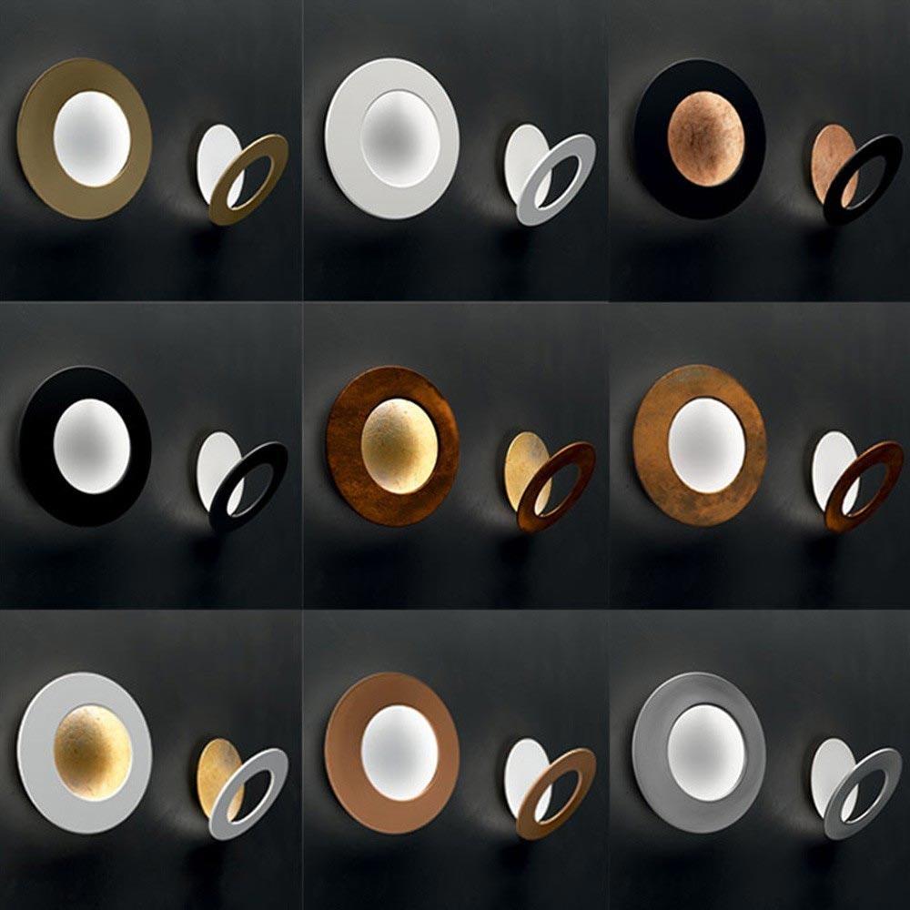 Icone LED Wandleuchte Vera Ø 31cm Weiß, Schwarz 2