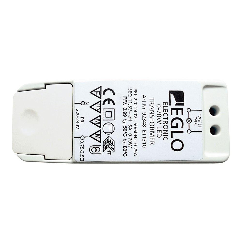 Elektronischer Trafo dimmbar LED-Treiber 12V 0-70 W