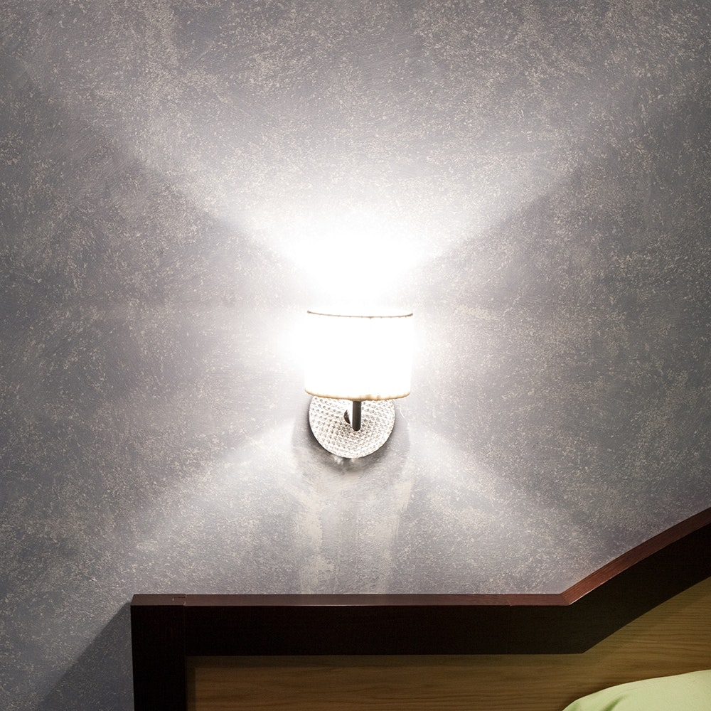 Fabbian Diamond&Swirl Wandlampe 3