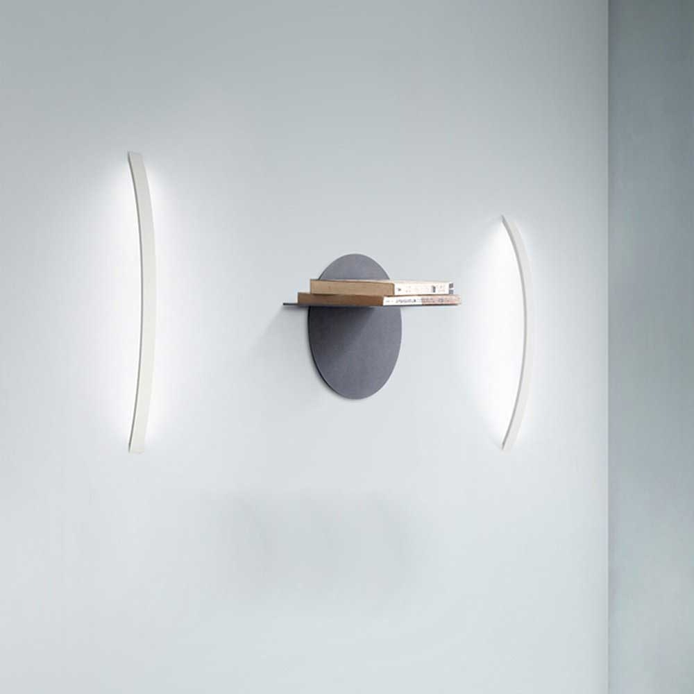 s.LUCE Ring L indirekte LED-Wandleuchte 66cm 5
