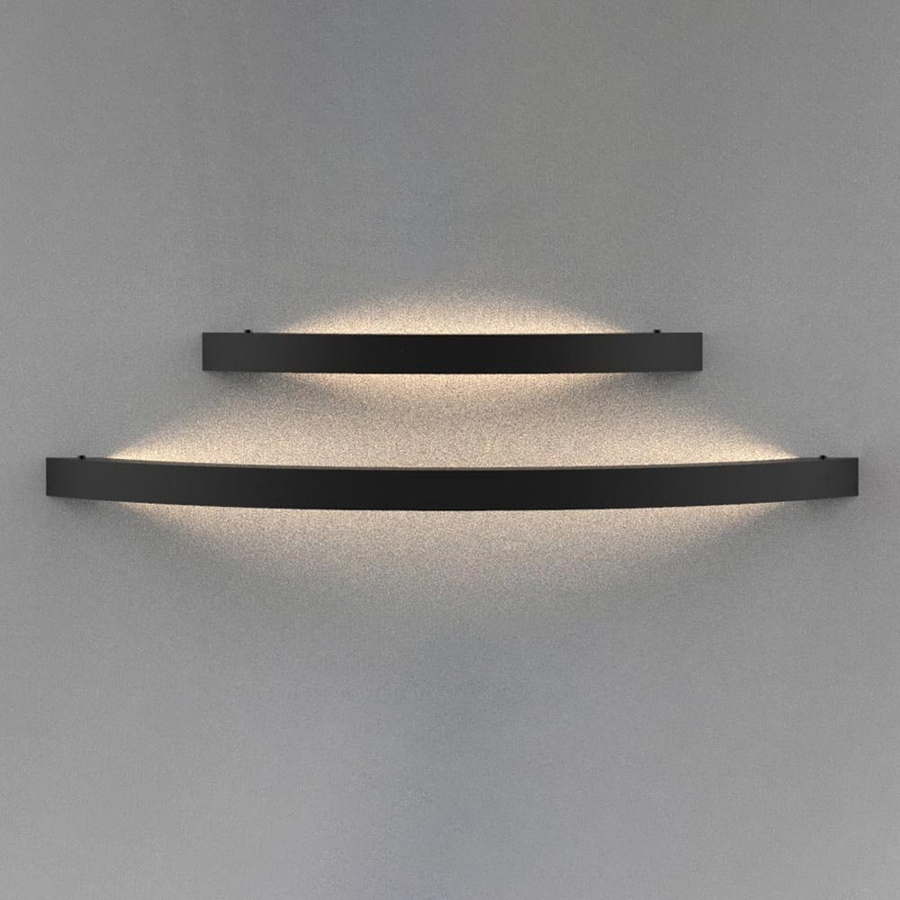 s.LUCE Ring M indirekte LED-Wandlampe 40cm 3