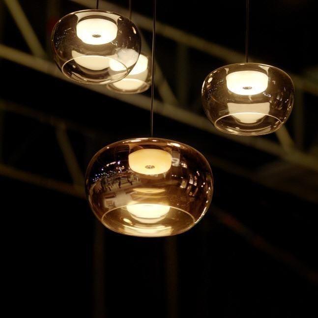 Wever & Ducre LED Pendellampe Wetro 400lm Kupfer 2