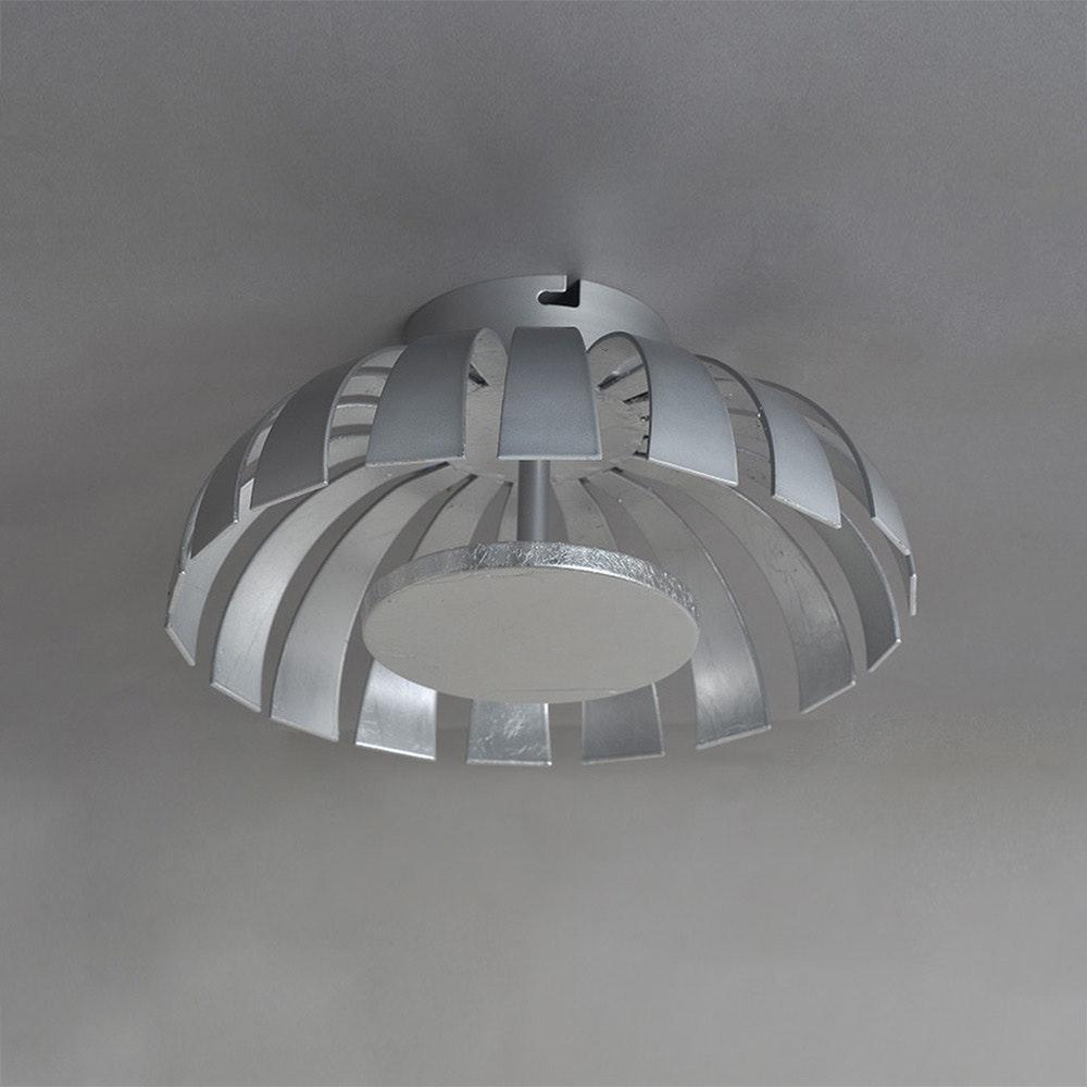 LED Wand- & Deckenleuchte Flare S Silberfarben 2