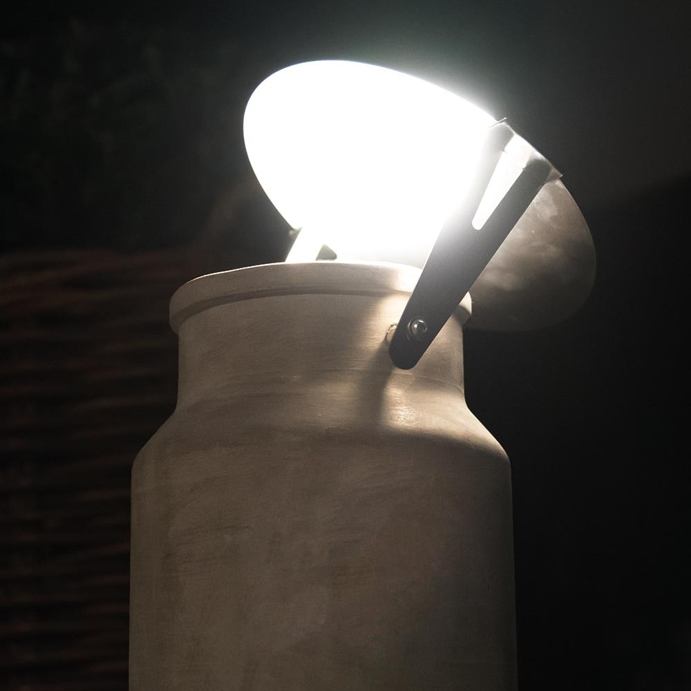 Karman Via Lattea Außen-Bodenlampe Milchkrug IP65 2