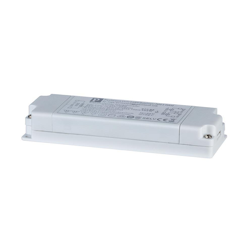 VDE Flat Elektroniktrafo 35-105W 12V 105VA Weiß 2