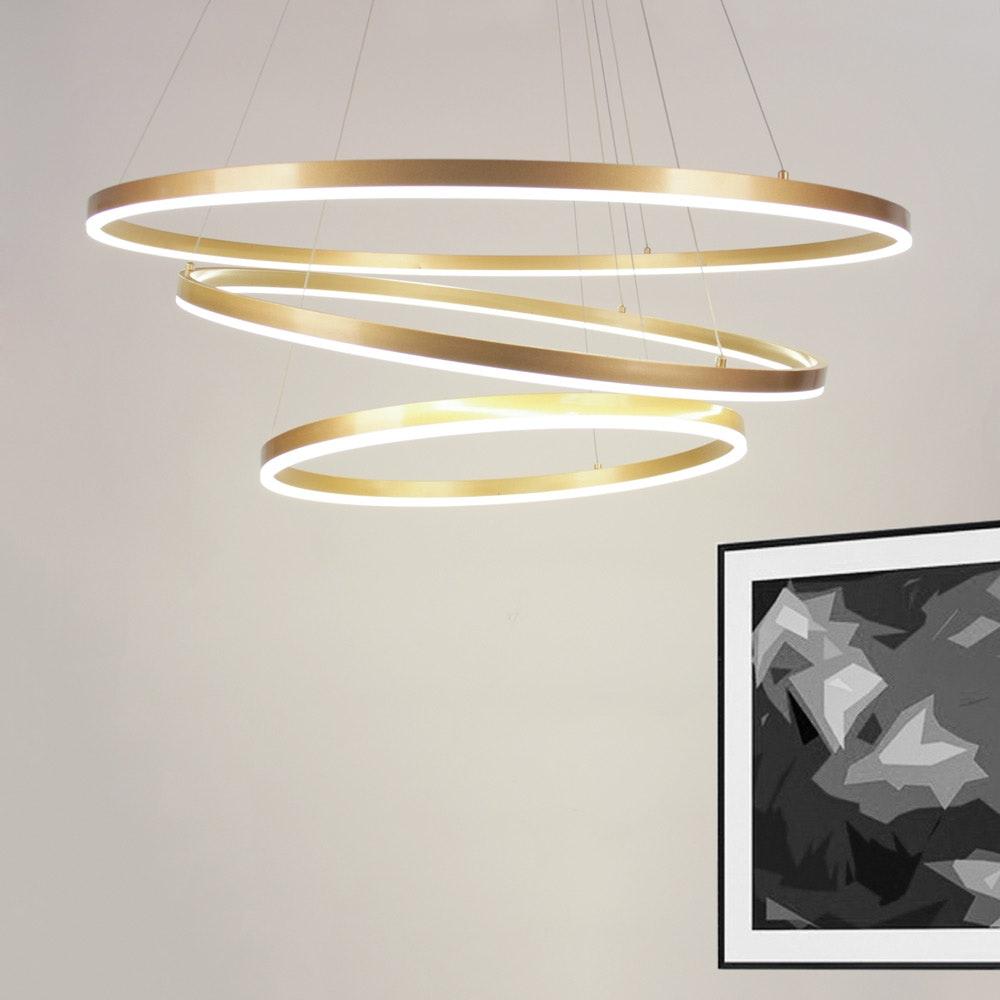 s.LUCE Ring Limited LED-Hängelampe Ø 60 80 100cm thumbnail 3