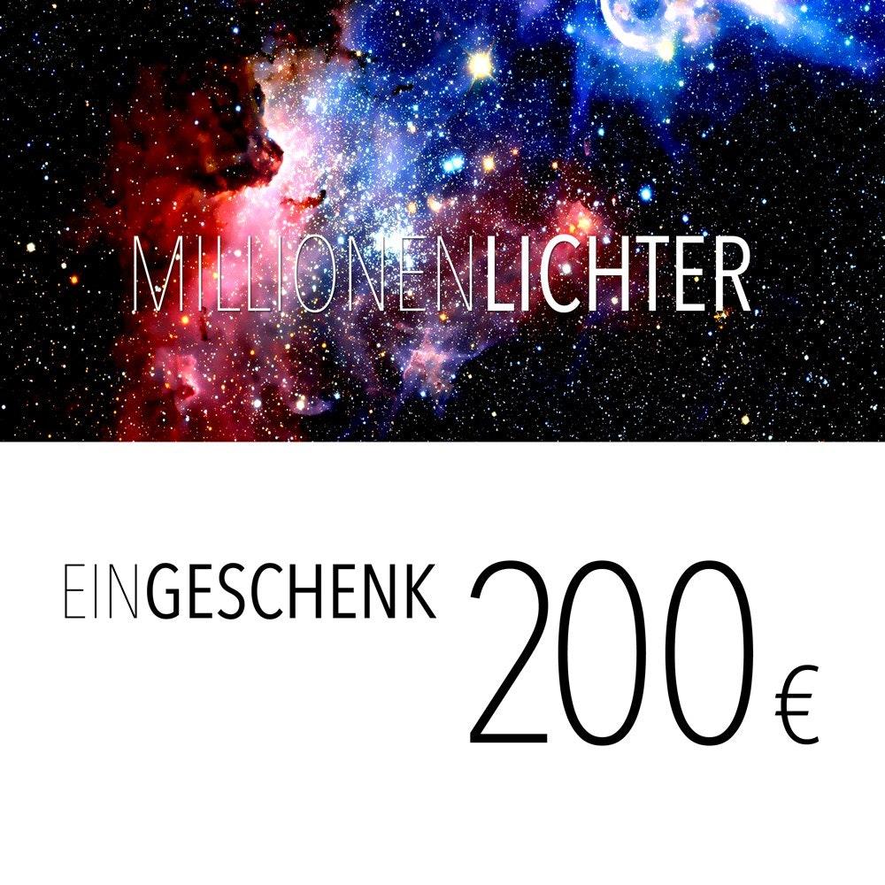 Einkaufsgutschein 200, - Euro 1