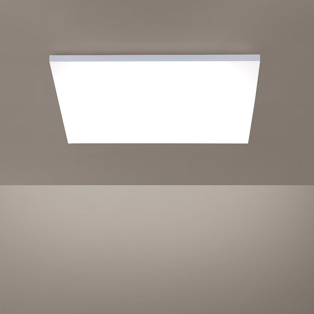 Q-Flat 2.0 rahmenlose LED Deckenlampe 62 x 62cm CCT + FB Weiß thumbnail 5