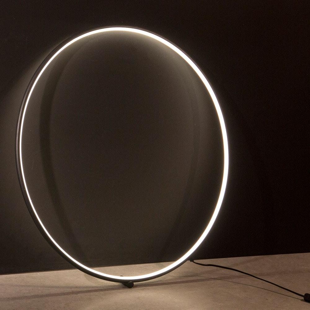 Nova Luce Ring LED-Wandleuchte zum aufhängen Schwarz thumbnail 4