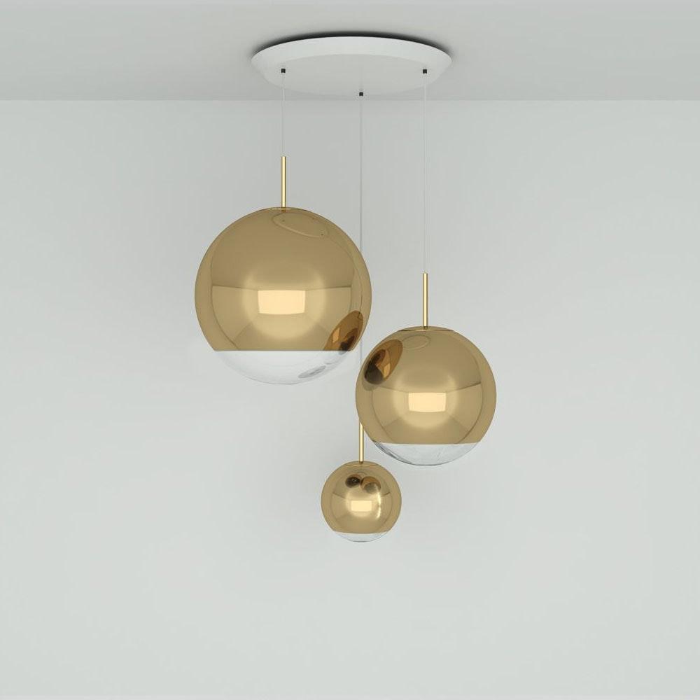 Tom Dixon Mirror Ball 3er Mobile Galerieleuchte thumbnail 5