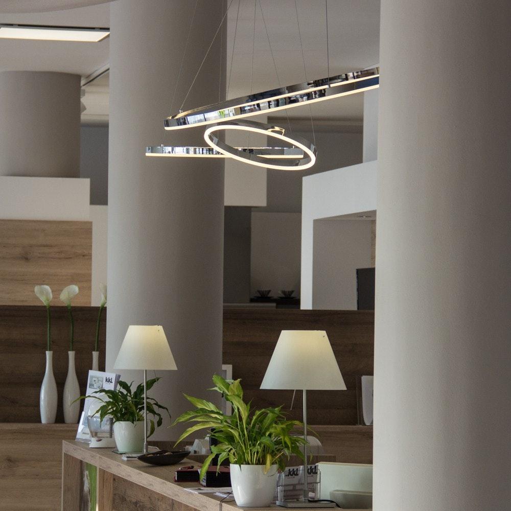 s.LUCE Ring 60 LED-Hängeleuchte Dimmbar 10