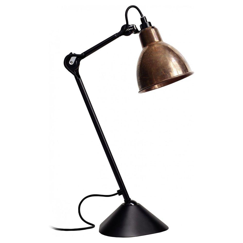 DCW Gras N°205 Tischlampe mit Schirm schwenkbar 15