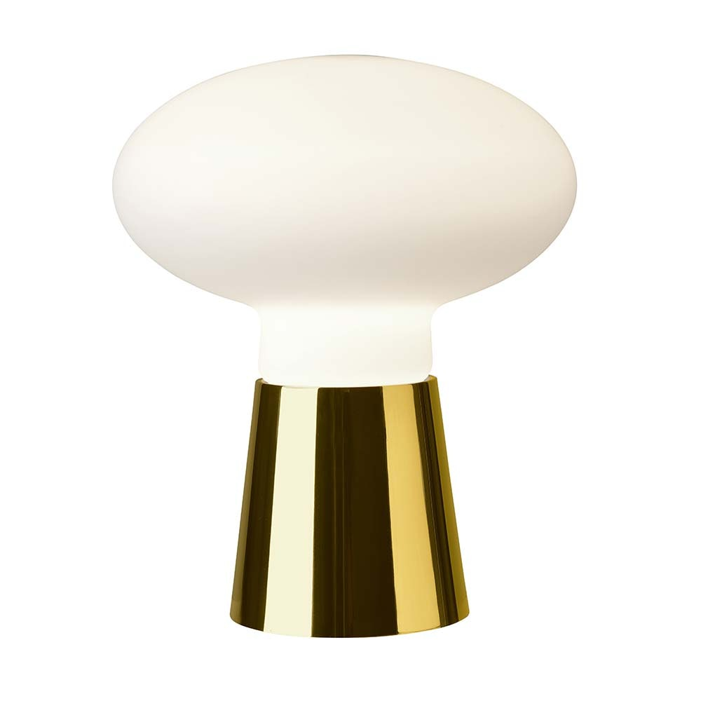 Villeroy & Boch Tischleuchte Bilbao 24cm Goldfarben, Weiß