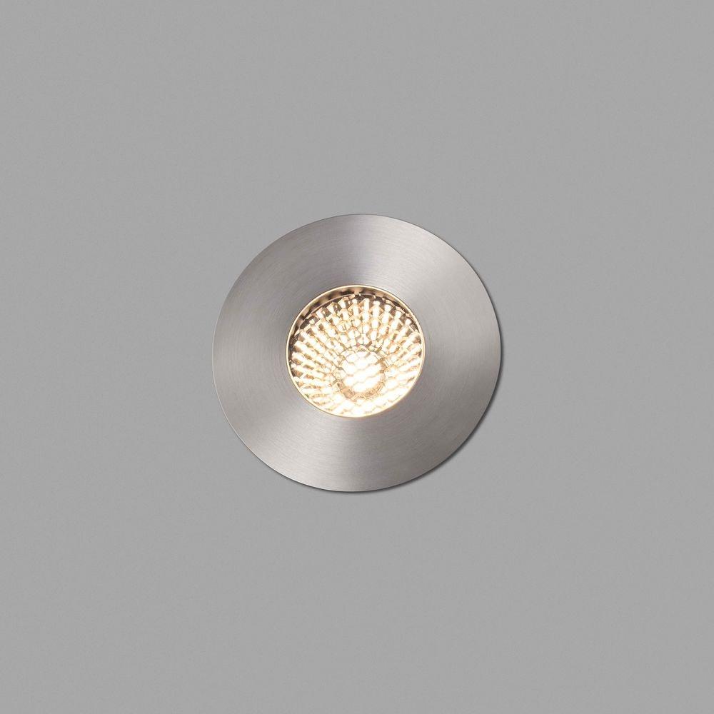 LED Einbauleuchte GRUND 36° 3000K IP67 Nickel-Matt 2