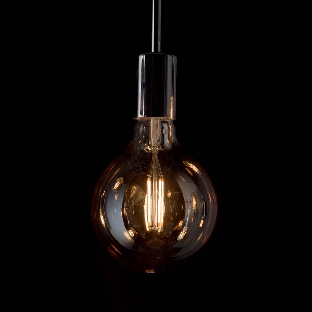 Ideal Lux LED Leuchtmittel Vintage E27 4W Globo Klein