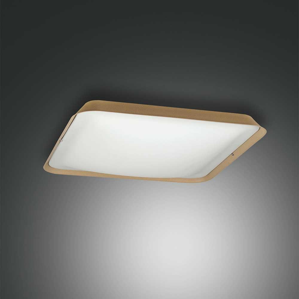 Fabas Luce moderne LED Deckenlampe Hugo aus Metall 4
