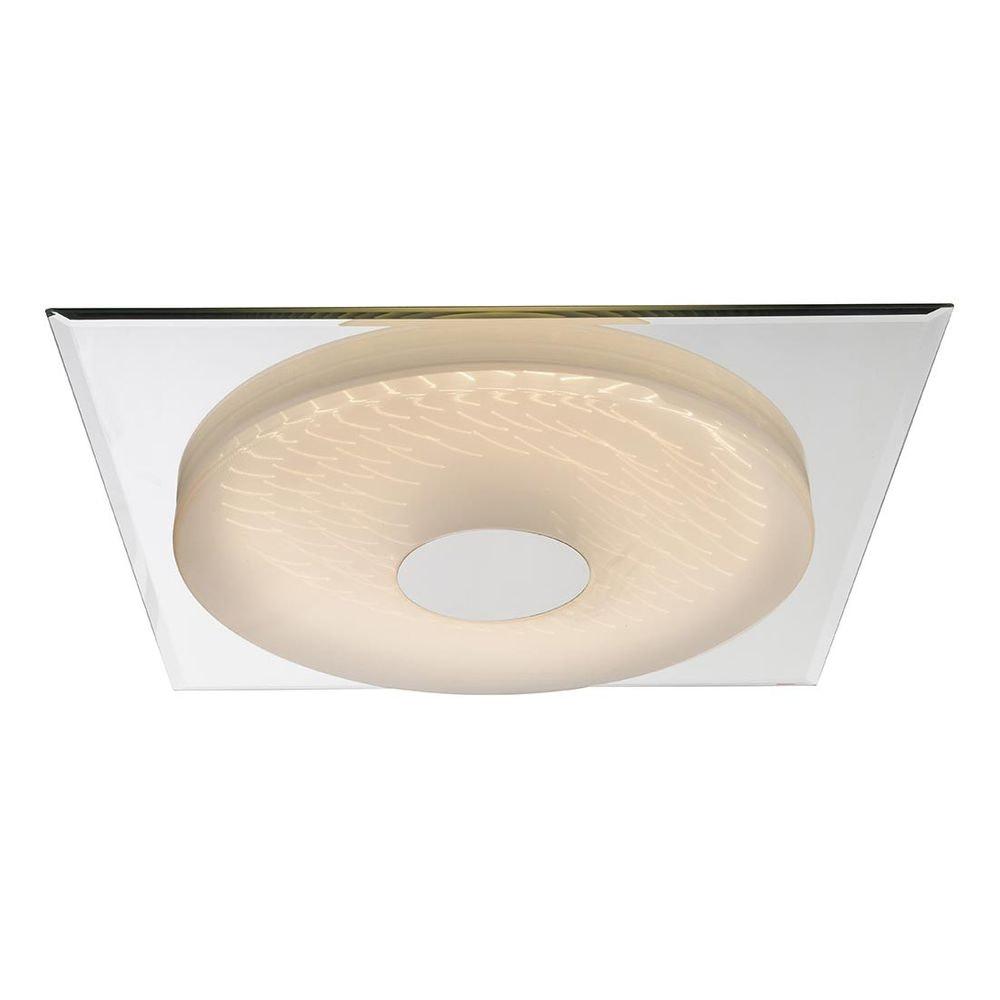Treviso I Deckenleuchte LED quadratisch, 3D-Effektfolie, 3000K-4500K-6000K, dimmbar 2000lm 4